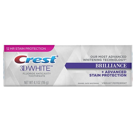 Crest 3D White Brilliance Toothpaste Mesmerizing Mint