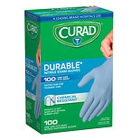 Curad Powder-Free Exam Gloves, Nitrile Universal