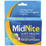 Midnite Sleep Aid, Tablets Cherry