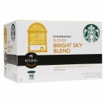 Starbucks Coffee K-Cups Bright Sky Blend Blonde
