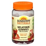 Sundown Naturals Melatonin 5mg Gummies Strawberry