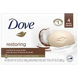 Dove Purely Pampering Beauty Bar Coconut Milk with Jasmine Petals,4 oz