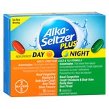 Alka-Seltzer Plus Day & Night Multi-Symptom Cold & Flu Formula Liquid Gels