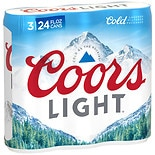Coors Light Beer 24 oz Cans