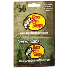 Bass Pro Shops $50 Gift Card | Walgreens