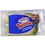 Hostess Twinkies Golden Sponge Cakes with Creamy Filling 2 Pack