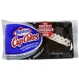 Hostess CupCakes Frosted Cakes with Creamy Filling 2 Pack Chocolate