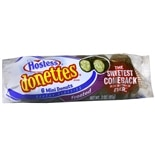 Hostess Donettes Mini Donuts 6 Pack Chocolate