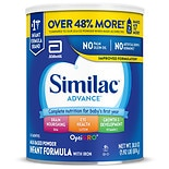 Similac Advance Complete Nutrition, Infant Formula with Iron, Powder 6-12 months