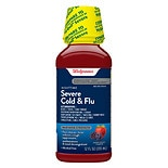 Walgreens Severe Cold & Flu Nighttime Liquid Berry