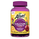 Nature's Way Alive! Calcium Plus Vitamin D3 Gummies