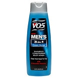 Alberto VO5 Mens 3-IN-1 Shampoo, Conditioner & Body Wash Ocean Surge