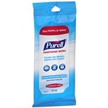 Purell Sanitizing Wipes Clean Refreshing Scent