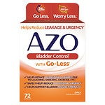Save up to 30% on AZO supplements for bladder health