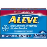 Aleve All Day Strong Pain Reliever, Fever Reducer, Caplets