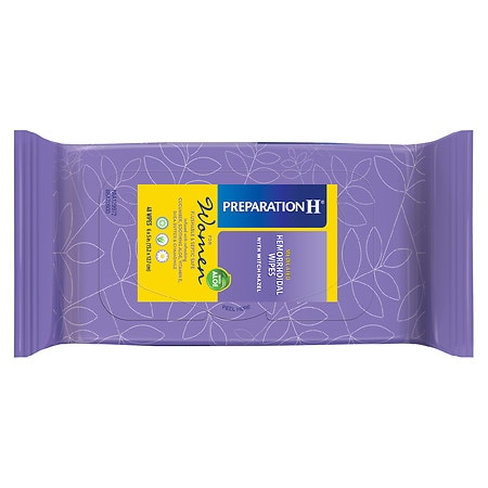 Preparation H Medicated Wipes for Women