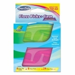 DenTek Floss Picks + Case for On-the-Go Mint
