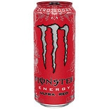 Monster Energy Drink Ultra Red