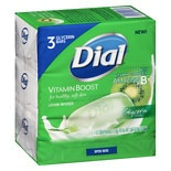 Dial Vitamin Boost Lotion Infused Glycerin Bar Soap