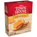 Keebler Town House Light Buttery Crackers Original