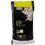 Living Solutions Ice Melter 5 Degrees F Rock Salt