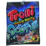 Trolli Brite Sour Octopus Candy Fruit