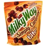 Milky Way Unwrapped Bites Candy Caramel