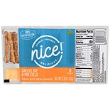 Sunny Smile Cheese Dip With Pretzels