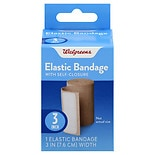 Walgreens Elastic Bandage with Self-Closure 3 inch