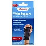 Walgreens Wrist Support Left, Large/XL