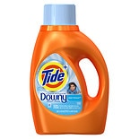 Tide Plus A Touch of Downy Liquid Laundry Detergent 24 Loads Clean Breeze