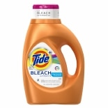 Tide Plus Bleach Alternative Liquid Laundry Detergent 24 Loads Clean Breeze