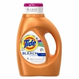 Tide Plus Bleach Alternative Liquid Laundry Detergent 24 Loads Original