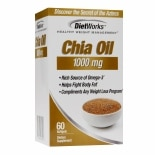 Diet Works Chia Oil 1000mg, Softgels