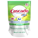 Cascade ActionPacs Dishwasher Detergent Extra Action Clorox Lemon