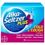 Alka-Seltzer Plus Cold & Cough Liquid Gels