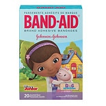 Band-Aid Adhesive Bandages Assorted Sizes Disney's Doc McStuffin