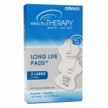 Omron Electrotherapy Pain Relief Long Life Pads Large