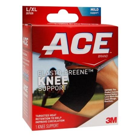 Ace Knee Brace With Side Stabilizers Xl