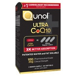 Qunol Ultra CoQ10 100mg, Softgels