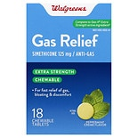 Walgreens Extra Strength Gas Relief Peppermint Creme