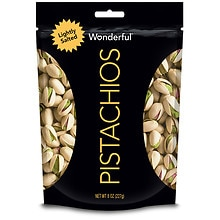 Wonderful Pistachios Lightly Salted Roasted