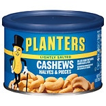 Planters Cashew Halves Lightly Salted
