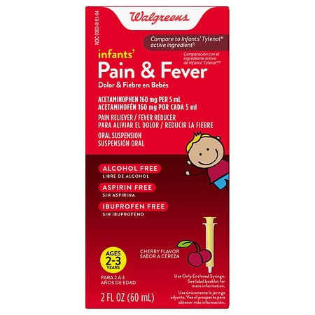 Walgreens Infant Pain/Fever Reducer Cherry