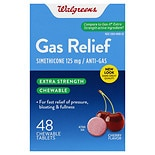 Walgreens Extra Strength Gas Relief Chewable Cherry
