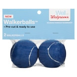 Walgreens Walker Balls Blue