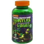 Teenage Mutant Ninja Turtles Multivitamin/Multimineral Gummies
