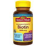 Nature Made Maximum Strength Biotin 5000Mcg, Tablets