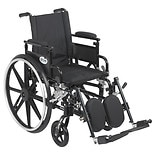 Viper Plus GT Wheelchair Flip Back Removable Adj. Desk Arm Elevating Leg Rest 20 Inch Seat Black