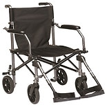 Drive Medical Travelite Transport Wheelchair Chair in a Bag Black
